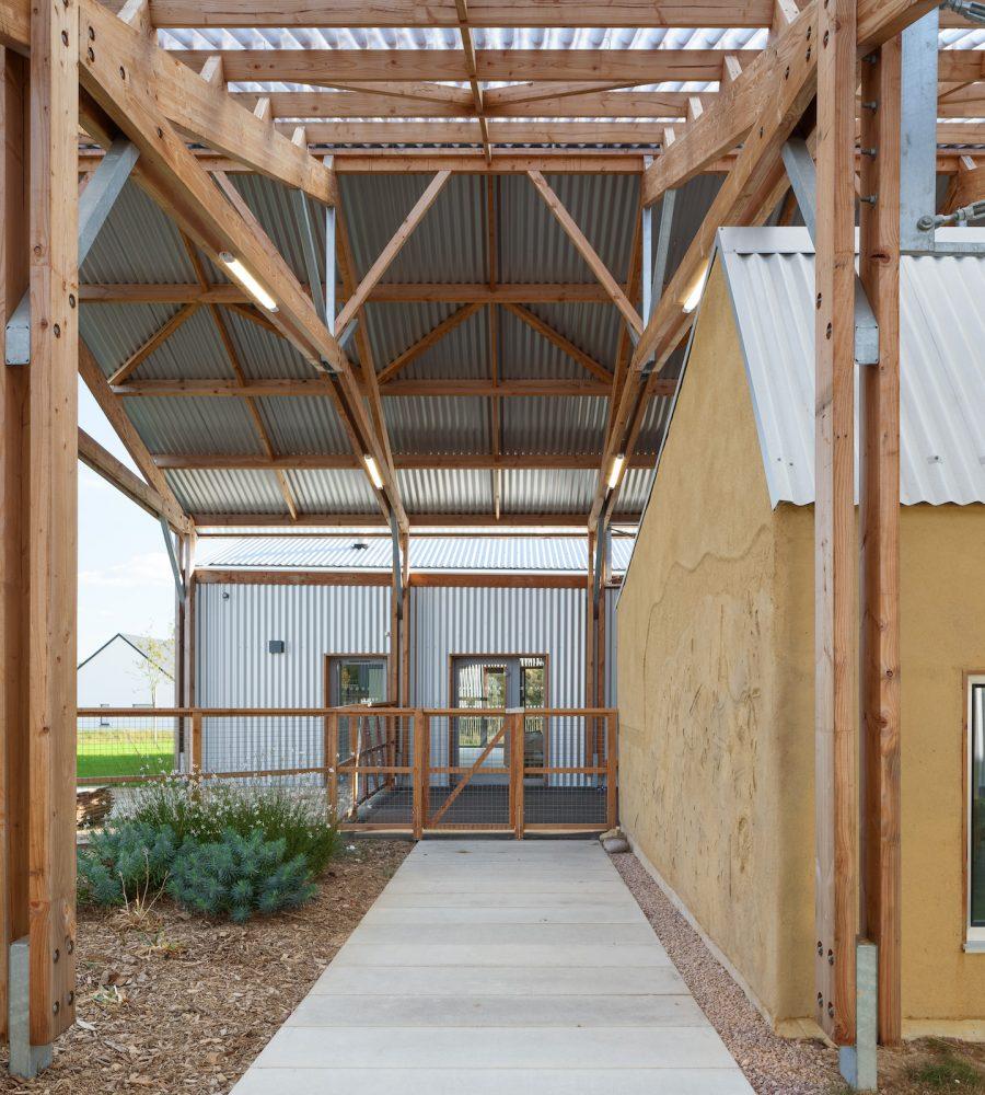 2010 Ecole Faro Architectes Baulon F.dantart Non Libre De Droits Exterieurs 7