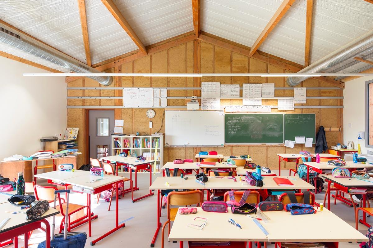 Contact 2010 Ecole Faro Architectes Baulon @ F.dantart Non Libre De Droits Interieurs 1