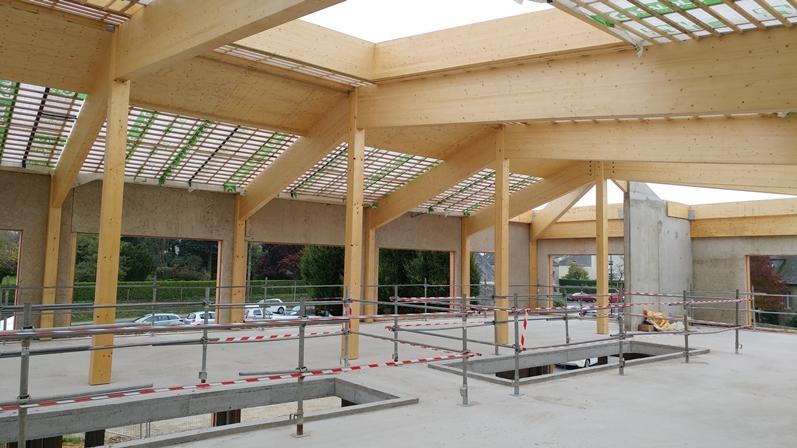 Chantier Bureaux Bois Beton Chanvre Entreprises Triballat 35 2 Petit